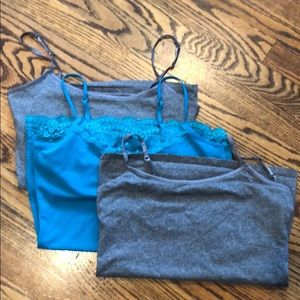 Trio of camis. Express & Authentic American